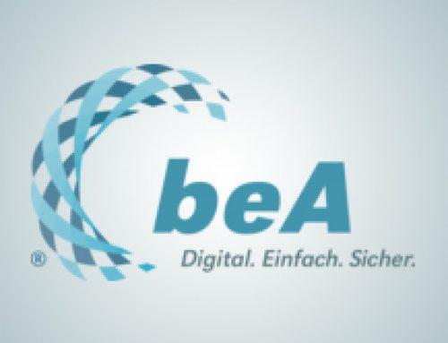 beA kommt später – BRAK verschiebt Starttermin